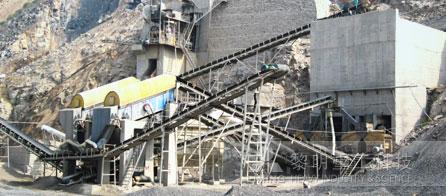 时产500/600吨石灰石碎石生产线