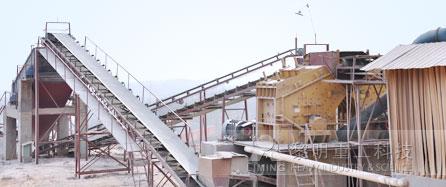 时产700-800吨石灰石碎石生产线