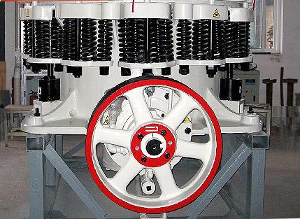 弹簧圆锥破碎机工作原理
